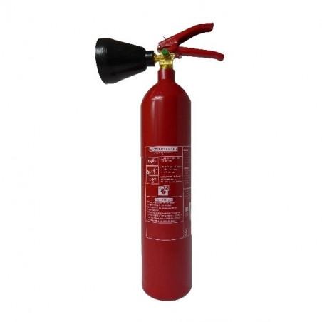Extincteur CO² 2 kg-Classe de feu BE-Pression permanente