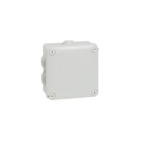 LEGRAND - BOITE DE DERIVATION CARREE PLEXO GRIS - 105X105X55MM