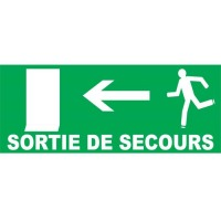 PANNEAUX SORTIE DE SECOURS