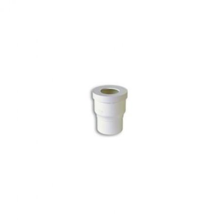 NICOLL - PIPE DE WC DROITE JOINT 85/107 DIAM 100 PVC