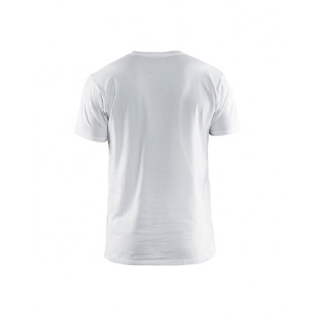 Blaklader - T-shirt reliable Limited - Blanc