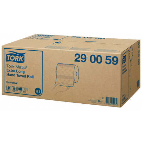 TORK - MATIC ESSUIE-MAINS ROULEAU EXTRA LONG UNIVERSAL