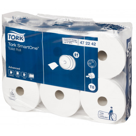 TORK - SMARTONE PAPIER TOILETTE ROULEAU ADVANCED