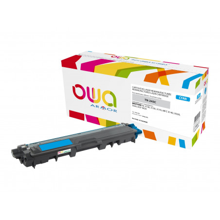 Brother TN245 - remanufacturé OWA K15658OW - cyan - cartouche laser