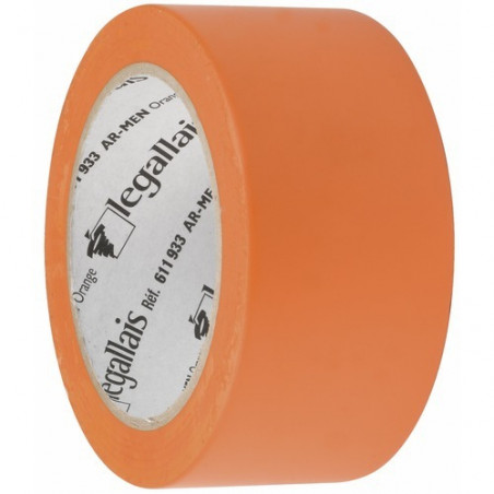 ADHESIF MULTI-USAGES ORANGE LARGEUR 50MM 33M