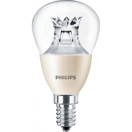 PHILIPS - MAS LEDLUSTRE DT 6-40W E14 P48 CL