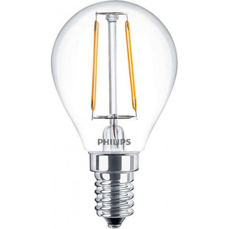 PHILIPS - CLA LEDLUSTER ND 2.3-25W E14 WW P45 CL