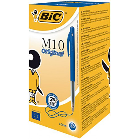 Boite de 50 STYLO-BILLE M10 CLIC - Medium