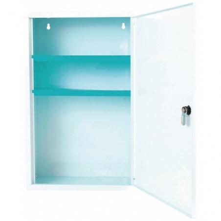Esculape - Armoire à pharmacie/premier secours Asep PV10 - 1 porte - Blanc