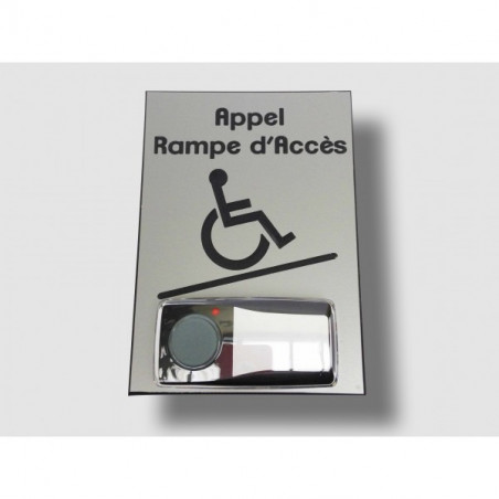CARILLON D'APPEL DESIGN POUR RAMPE D'ACCES MOBILE - VERTICAL