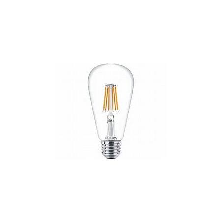 PHILIPS - CLA LEDBULB ND 7.5-60W E27 WW ST64 CL
