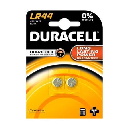 DURACELL - BLISTER 2 PILE BOUTON LR44