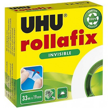 ROLLAFIX - RECHARGE INVISIBLE ROULEAU 33M