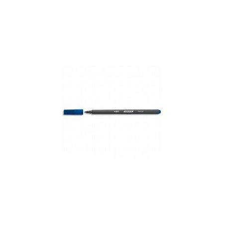 Bic - 12 Stylos Parafe Roller - Pointe Moyenne - Bleu