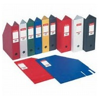ELBA - PORTE REVUES COLOR LIFE EN PVC DOS 70MM 32X24 COULEURS ASSORTIS
