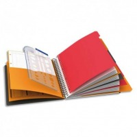 OXFORD - MANAGERBOOK CAHIER A4  COUVERTURE POLYPRO 223X298