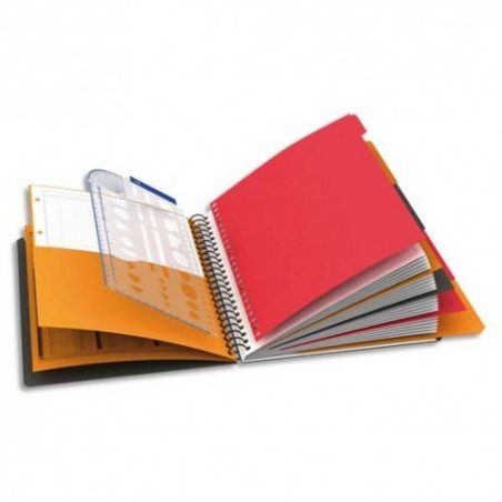 OXFORD - MANAGERBOOK CAHIER A4+ COUVERTURE POLYPRO 223X298