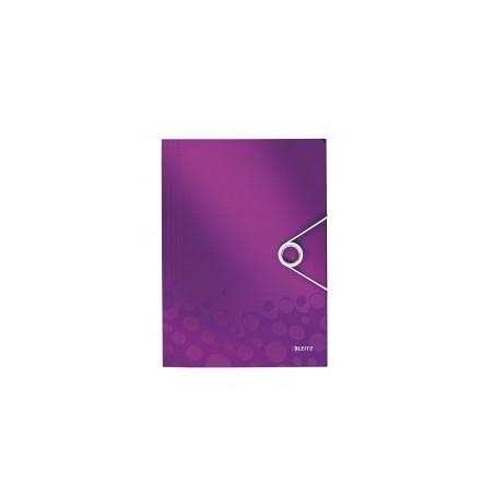 LEITZ - CHEMISE PURPLE 3 RABAT EN CARTON 250 FEUILLES