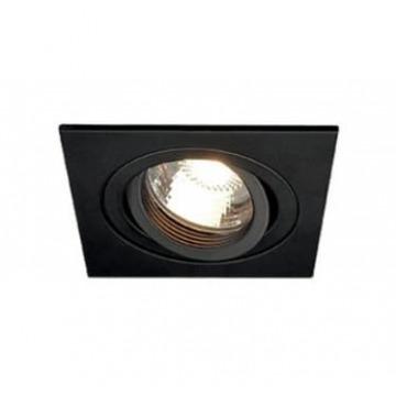 KIT LEDSPOT NOIR  GU10 5-50W/827 36D AVEC DOUILLE