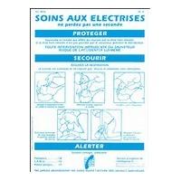 CATU - AFFICHE ALUMETAL SOINS AUX ELECTRISES