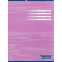 CAHIER PIQURE CALIGRAPHE 170X220 MM 96P 5X5 (PETITS CARREAUX)