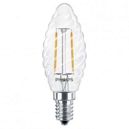 PHILIPS - CLA LEDCANDLE ND 2.3-25W E14 WW ST35 CL