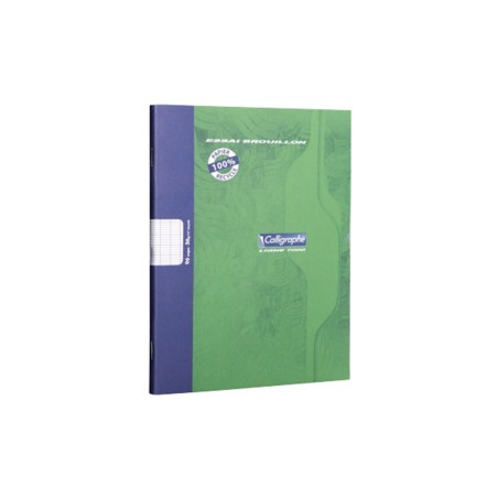 CAHIER BROUILLON 17 X 22 CM - 96 PAGES SEYES