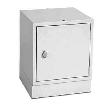Casier de rangement individuel Multibox - 45 x 45 x 45 cm - Gris