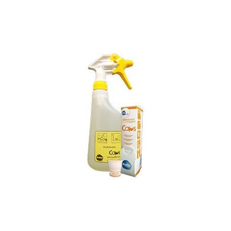 Pollet - Starter kit avec 4 vaporisateurs et 4 capsules Grease Out