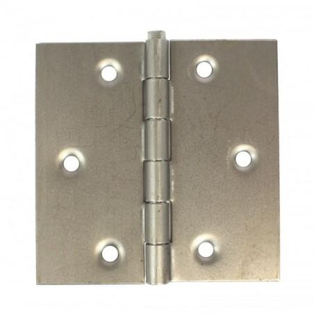 Charnière carrée simple action forte-Double feuille