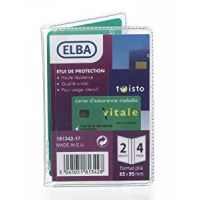 ETUI ELBA 4 CARTES PVC200 INC