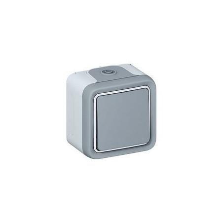LEGRAND -  Interrupteur va-et-vient - Etanche - 10 AX
