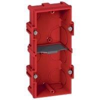 LEGRAND - BOITE MULTIPOSTE BATIBOX - 2 POSTES 4/5 MOD - VERT/HORIZ - PROF. 40
