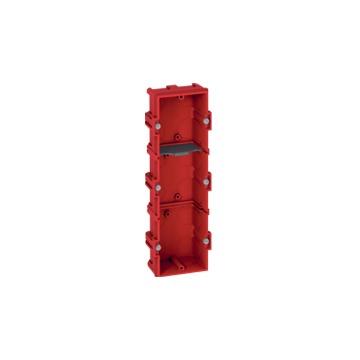 LEGRAND - BOITE MULTIPOSTE BATIBOX - 3 POSTES 6/8 MOD - VERT/HORIZ - PROF. 40